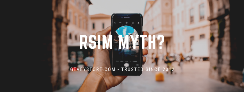 Heard a myth about RSIM? Find out the truth from GeveyStore