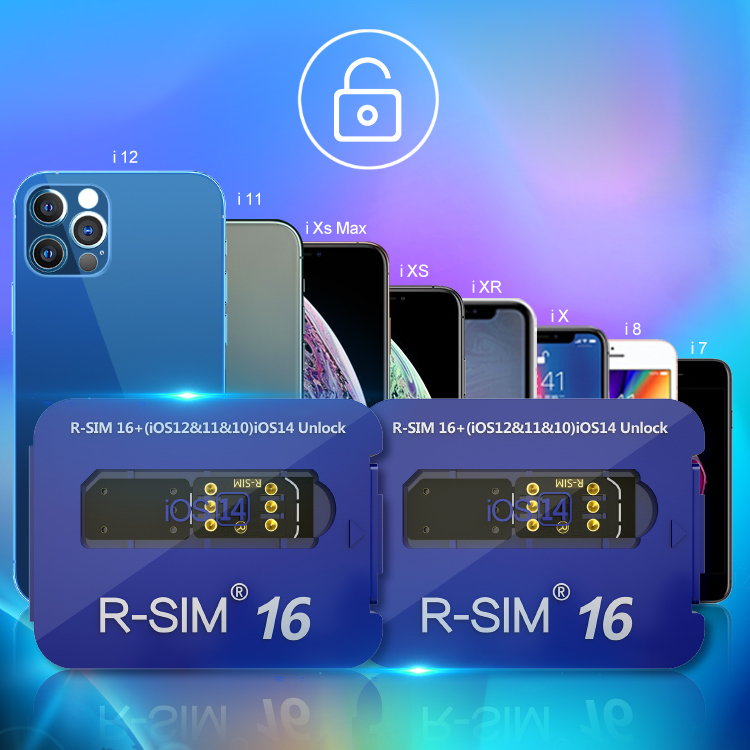 RSIM 16 Gevey SIM is the best iPhone 12 unlocking technology for 2021